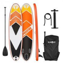 KLARFIT Spreestar 325, nafukovací paddleboard, SUP set, 325 x 15 x 86, oranžový