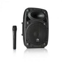 "Auna Streetstar 10, mobilný PA systém, 10"" (25.5 cm) woofer, UHF mikrofón, 400 W max."