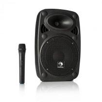 "Auna Streetstar 8, mobilný PA systém, 8"" (20 cm) woofer, UHF mikrofón, 200 W max."