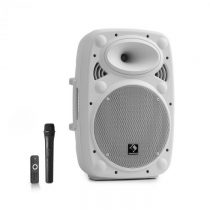 """Auna Streetstar 10, mobilný PA systém, 10"""" (25.5 cm), UHF mikrofón, 400 W max., biely"""