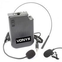 Vonyx VPS10BP UHF Headset, vysielačková sada k UHF systémom a PA zariadeniam
