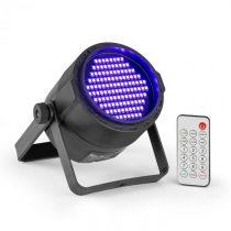 Beamz PLS20 Blacklight UV Par, LED reflektor, 120 x 3528 LED diód, akumulátor, diaľkový ovládač