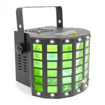 Beamz Radical 2, efekty 3v1, 4x 3W RGBW LEDky, laser červený/zelený, 4 DMX kanály