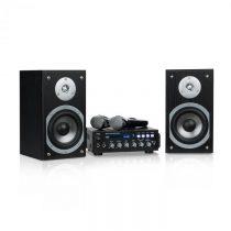 Auna Karaoke Star 3, karaoke sada, 2 x 75 W max., BT, USB port, linkový vstup, 2 x mikrofón