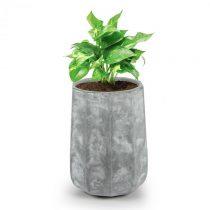 Blumfeldt Decaflor, kvetináč, 55 x 70 x 55 cm, sklolaminát, do interiéru aj exteriéru, svetlosivý