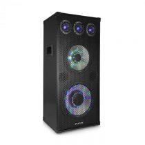 "Fenton TL 1012 LED, PA reproduktor, 900 W, 12"" woofer, 10"" stredno tónový reproduk..."