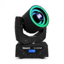 Beamz Illusion 2, 30 W, LED biele, 3v1 SMD RGB LED kruh, DMX režim alebo samostatný režim , čierna