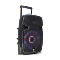 "Fenton FT15JB, aktívny reproduktor, 15"" woofer, 800 W, BT/USB/SD/AUX vstup, LED jellyball, ..."