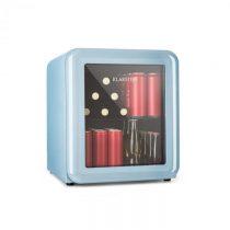 Klarstein PopLife, chladnička na nápoje, chladnička, 48 litrov, 0 - 10 °C, retro dizajn, modrá