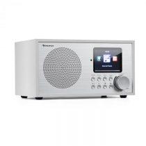 Auna Silver Star Mini, internetové DAB+/FM rádio, WiFi, BT, DAB+/FM, biele