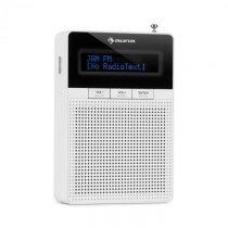 Auna DigiPlug FM, rádio do zásuvky, FM/PPL, BT, LCD displej, biele