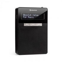 Auna DigiPlug FM, rádio do zásuvky, FM/PLL, BT, LCD displej, čierne