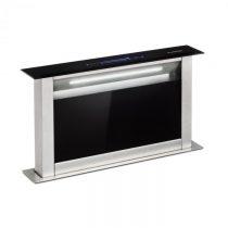 Klarstein Royal Flush Eco, výsuvný odsávač pár, 60 cm, 458 m³/h, A+, čierny