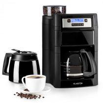 Klarstein Aromatica II Duo, kávovar, integrovaný mlynček, 1.25 l, čierny