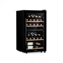 Klarstein Barossa 34D, vinotéka, 2 zóny, 34 fliaš, sklené dvierka, dotykové ovládanie, čierna