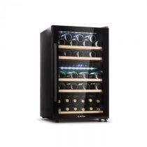 Klarstein Barossa 40D, vinotéka, 2 zóny, 135 l, 41 fliaš, sklené dvere, dotyková