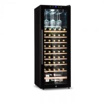 Klarstein Barossa 54S, vinotéka, 2 zóny, 148 l, 54 fliaš, sklenené dvere, dotyková