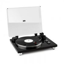Auna Pure Precision, gramofón, remeňový pohon, 33 1/3 a 45 ot./min., čierny
