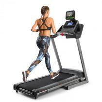 Capital Sports Infinity Track 2.0, bežecký pás, 5 HP, BT, aplikácia Kinomap, LCD, sivý