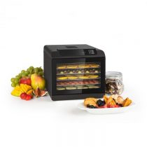 Klarstein Arizona Jerky, sušička ovocia, 500 W, 35 - 70 °C, digitálny dotykový displej, čierna