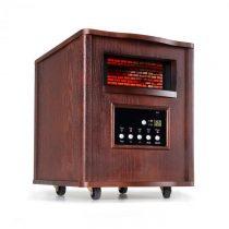 Klarstein Heatbox, infračervený ohrievač, 1500 W, 12-hod. časovač, diaľkový ovládač, tmavý orech