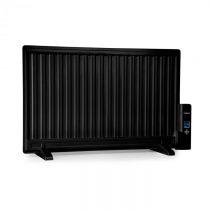 OneConcept Wallander, olejový radiátor, 800 W, termostat, olejové vyhrievanie, ultra plochý dizajn, ...