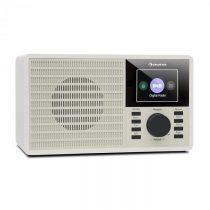 "Auna DR-160 BT, DAB+/FM rádio, USB, AUX, 2.4"" TFT displej, biele"