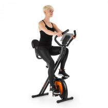 Klarfit X-Bike XBK700 Pro, domáci cyklotrenažér, ergometer, meranie tepu, sklopný