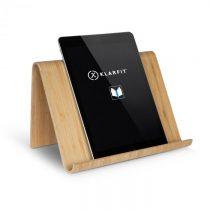 Klarfit Panda, držiak na tablet, bambus, ergonomický, vrátane e-knihy s receptami
