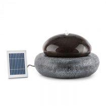 Blumfeldt Ocean Planet, solárna fontána, 200 l/h, solárny panel, 2 W, akumulátor, LED, polyresin