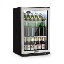 Klarstein Beersafe Pro, chladnička, 133 l, sklené dvere, 2 vsuvné poličky, čierna