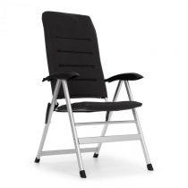 Blumfeldt Almagro, záhradná stolička, hliníkové, penová podložka, čierne