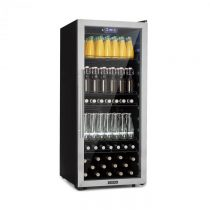 Klarstein Beersafe 7XL, chladnička na nápoje, 242 l, A+, sklo, ušľachtilá oceľ
