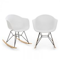 Blumfeldt Skandi, hojdacia stolička, sada 2 kusov, polypropylén, biela
