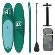 Klarfit Spreestar, nafukovací paddleboard, SUP-Board-Set, 305 x 10 x 77 cm, tyrkysový