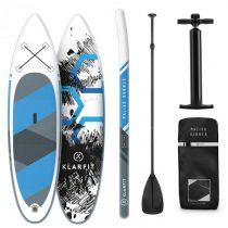 Klarfit Maliko Runner, nafukovací paddleboard, SUP-Board-Set, 305 x 10 x 77 cm, modrý