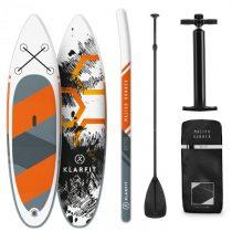 Klarfit Maliko Runner, nafukovací paddleboard, SUP-Board-Set, 305 x 10 x 77 cm, oranžový