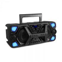 Fenton MDJ140, párty stanica, 200 W, akumulátor, BT, LED osvetlenie, diaľkový ovládač, čierna