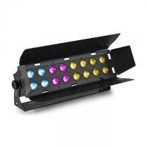 Beamz WH192, wall wash svetelný efekt, 100 W, 16 x 12 W 6 v 1 LED diódy, RGBWA-UV, IR diaľkový ovlád...
