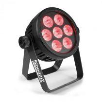 Beamz BAC500, Aluminium, ProPar, 7 x 14 W 7 v 1 LED dióda, RGBA-UV-CW/WW, čierny
