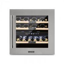 Klarstein Vinsider 36, chladnička na víno, 2 chladiace zóny, 5-22°C, 94l, ušľachtilá oceľ