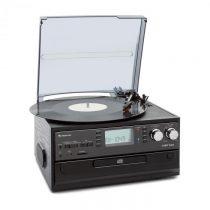 Auna Oakland, retro-stereo systém, FM, funkcia BT, vinyl, CD, kazetový prehrávač, MP3