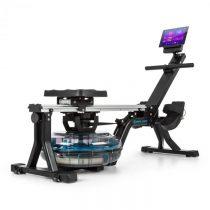 Capital Sports Flow M1, vodný veslovací trenažér, 80 cm, postaviteľný, LCD displej, oceľ, čierny