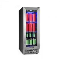 Klarstein Beerlager 56, chladnička na nápoje, 56 l, 20 fliaš, energetická trieda A, ušľachtilá oceľ,...