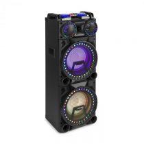 """Fenton VS210, aktívny párty box, 1600 W, 2x10"""" sub, BT, USB, SD, LED"""