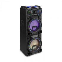 """Fenton VS212, aktívny párty box, 2400 W, 2x12"""" sub, BT, USB, SD, LED"""