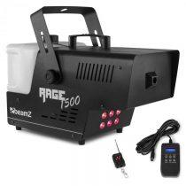 Beamz Rage 1500 LED, výrobník hmly, 6 x 9 W RGB LED, 1500 W, 350 m³/min., 3,5 l nádrž