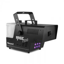 Beamz Rage 1800, LED, výrobník hmly, 6 x 4 wattov, RGBW LED diódy, 1800W, 530m³/min, objem 3,5l