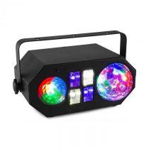 Beamz LEDWAVE LED, jellyball, 6 x 3 W RGB, waterwave 1 x 4 W RGBW, UV/stroboskop 4 x 3 W, čierna