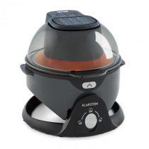 Klarstein VitAir Swing, teplovzdušná fritéza, 1400 W, 50 – 240 °C, časovač, čierna